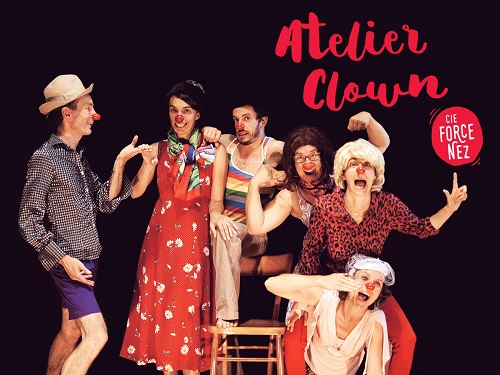 Atelier hebdomadaire de clown 2016/2017