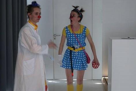 Retour en images sur les clowns en conférence!