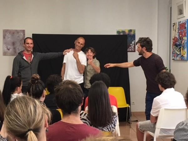 Théâtre-forum sur les addictions avec des jeunes